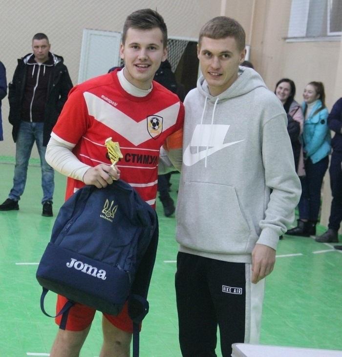 Владислав Загробський (ліворуч) та Віталій Буяльський